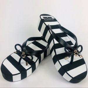 Kate Spade Rhett Striped Platform Sandals